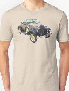 1931 Ford Model A Cabriolet Antique Car Unisex T-Shirt