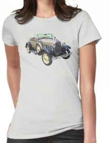 1931 Ford Model A Cabriolet Antique Car Womens Fitted T-Shirt