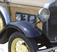 1931 Ford Model A Cabriolet Antique Car Sticker