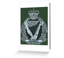 Royal Irish Regiment Greeting Card