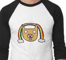 Sloppy The Cat Men's Baseball ¾ T-Shirt