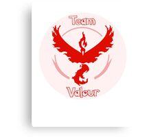 Pokemon Go - Team Valour Canvas Print