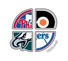 Philadelphia Pro Sports TETRAlogy! Eagles, Phillies, 76ers and Flyers by Sochi