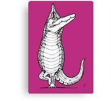 Yogi Crocodile Tree pose Canvas Print