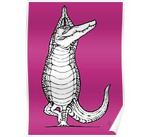 Yogi Crocodile Tree pose Poster