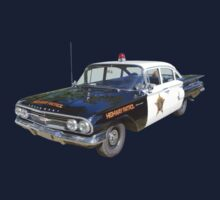 1960 Chevrolet Biscayne Police Car One Piece - Long Sleeve