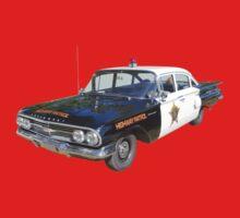 1960 Chevrolet Biscayne Police Car Kids Tee