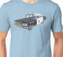 1960 Chevrolet Biscayne Police Car Unisex T-Shirt