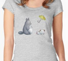 Totoro x Poros Women's Fitted Scoop T-Shirt