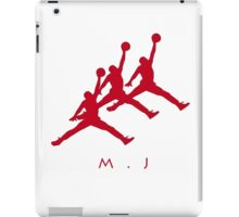 Michael Jordan In Air iPad Case/Skin