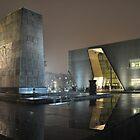 POLIN Museum in Warsaw by Lukasz Godlewski