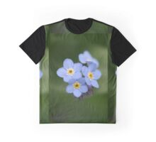 Little blue forget me not Graphic T-Shirt