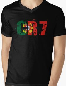 CR7 Mens V-Neck T-Shirt
