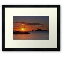 Hebridean Gold Framed Print