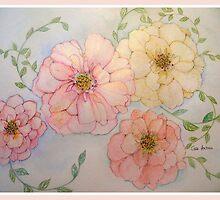 FOUR ROSES GEM by Gea Austen