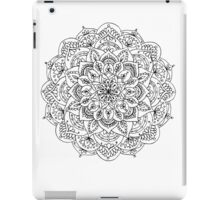 Mandala ornament, hand made iPad Case/Skin