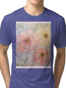 FOUR ROSES GEM Tri-blend T-Shirt