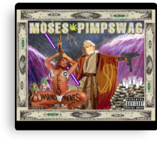 moses pimpswag Canvas Print