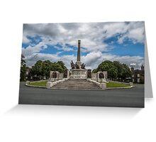 Port Sunlight War Memorial  Greeting Card
