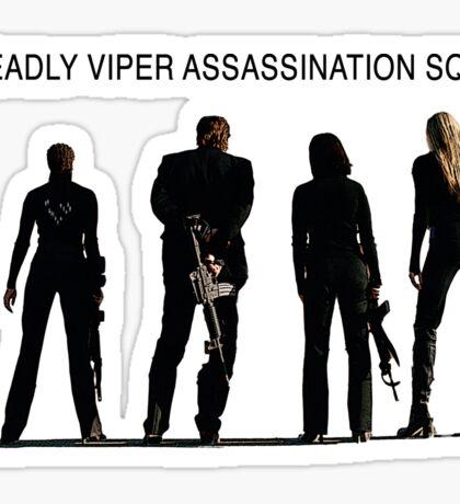 Deadly Viper Assassination Squad - Kill Bill Sticker