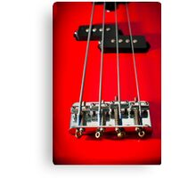 Fretless Bass Canvas Print