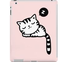 Cute Sleeping Kitty Cat iPad Case/Skin