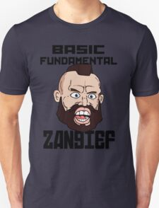 Basic fundamental Zangief  Unisex T-Shirt