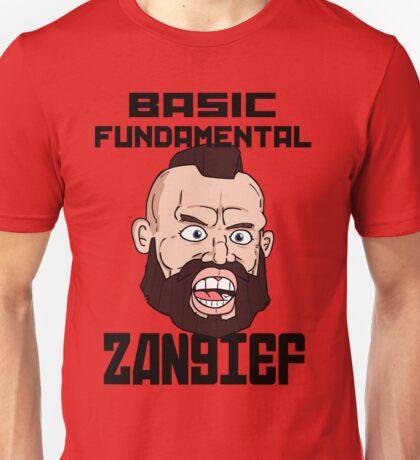 Basic fundamental Zangief  Unisex T-Shirt