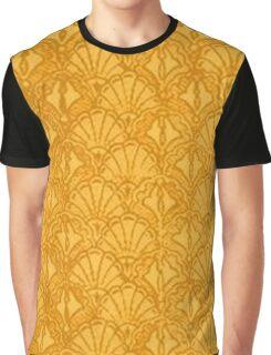 Vintage Seashells Mango Graphic T-Shirt