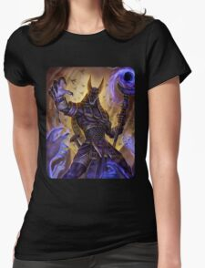 Death God Womens Fitted T-Shirt