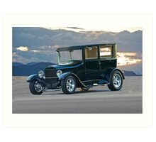 1927 Ford Sedan 'Watta Q T' Art Print