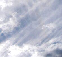 Sun Dog Through an Amazing Sky Sticker