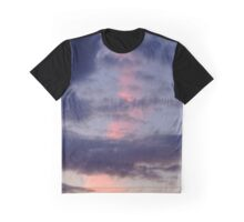 Pink Streaked Sky Graphic T-Shirt