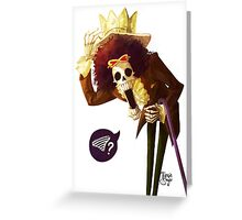 Brook -One Piece Greeting Card
