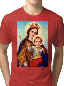 King and Queen Tri-blend T-Shirt