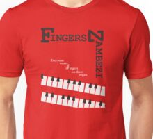 Fingers Zambezi on the Organ Unisex T-Shirt