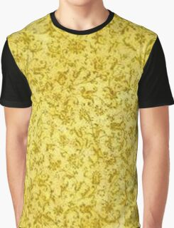 Vintage Floral Yellow Graphic T-Shirt