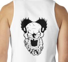 Maniacal Skull Clown Tank Top