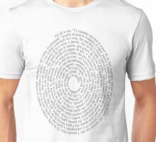 Dante: Inferno 34 Unisex T-Shirt