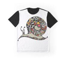 Art snail, ornate zentangle style Graphic T-Shirt
