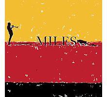 Miles Photographic Print