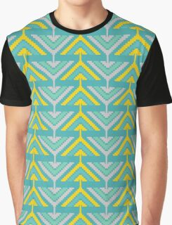 African zigzag Graphic T-Shirt