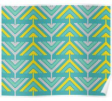 African zigzag Poster