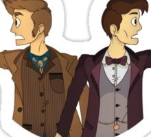 The Two Doctors Sticker