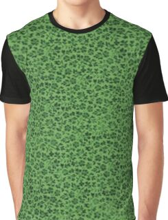 Vintage Flowers Ivy Green Graphic T-Shirt