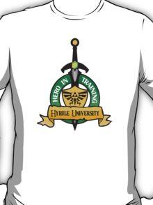 Zelda Hyrule University Printed Mens Tshirt T-Shirt