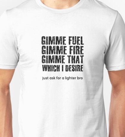 Fuel Metallica Funny Joke Humor Pun Unisex T-Shirt