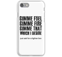 Fuel Metallica Funny Joke Humor Pun iPhone Case/Skin