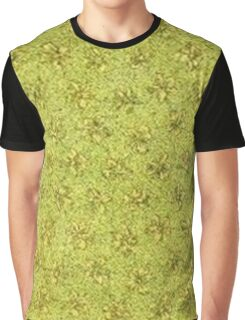 Vintage Yellow Green Graphic T-Shirt