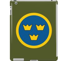Swedish Air Force - Roundel iPad Case/Skin
